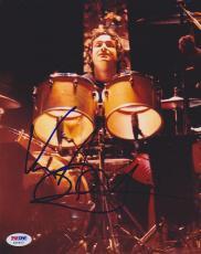 Vinny Appice SIGNED 8x10 Photo Drummer Dio Black Sabbath PSA/DNA AUTOGRAPHED