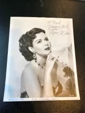 Vintage 1950's Ann Miller Signed Original Studio Photo