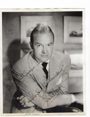 Vintage 1950's Bob Hope Signed Autographed Photo