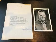 Vintage 1960's  Bud Collyer Superman Signed Autographed Original Photo