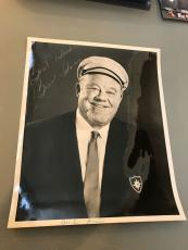 Vintage 1960's Burl Ives Signed Autograph 8X10 Photo With JSA COA