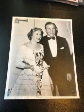 Vintage 1960's  George Burns & Gracie Allen Signed Autographed Original Photo