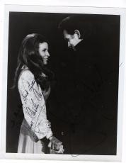 Vintage 1960's Johnny Cash & June Carter Cash Signed Autographed 8x10 Photo