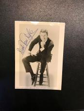 Vintage 1960's Original Photo Dick Van Dyke Signed Autographed Photo