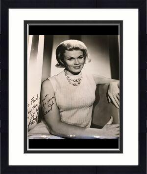 Vintage 1960's Pat Priest The Munsters Signed Autographed 8x10 Photo JSA COA