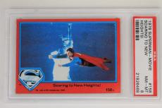 VINTAGE 1978 SUPERMAN-the MOVIE DC Comics #158 Card PSA NM-MINT 8