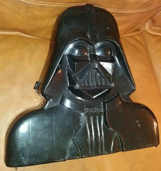 Vintage 1980 Star Wars Darth Vader Action Figure Collectible Case Rare L@@k B