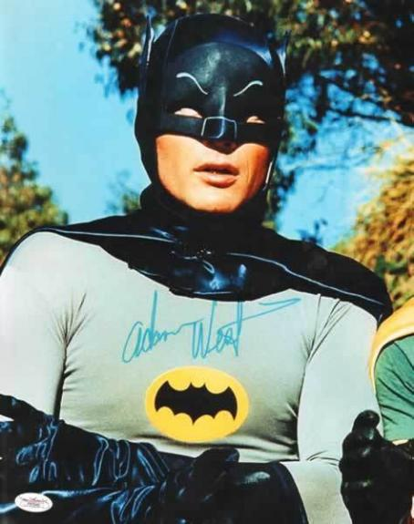 Vintage - Adam West (Batman) signed 11x14 photo -JSA #F87946