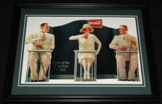 Vintage Coca Cola 7 Million A Day Framed 11x14 Poster Display Official Repro