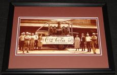 Vintage Coca Cola Delicious Refreshing Framed Poster Display Official Repro