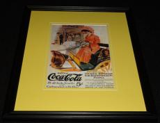 Vintage Coca Cola for Discriminating People Framed Poster Display Official Repro