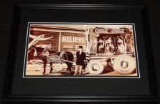 Vintage Coca Cola Horse & Buggy Framed 11x14 Poster Display Official Repro