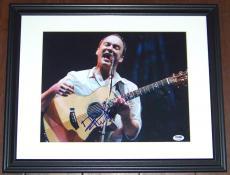 VINTAGE! Dave Matthews Band DMB Signed Autographed Framed 11x14 Photo PSA COA!