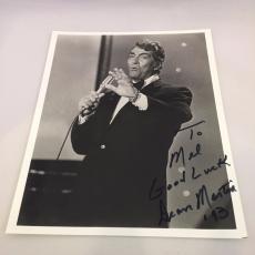 Vintage Dean Martin Signed Autographed 8x10 Photo