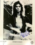 Vintage EDDIE VAN HALEN signed authentic Van Halen promo11x14 photo