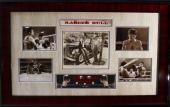 Vintage ROBERT DeNIRO/ JOE PESCI signed Raging Bull framed display-JSA Letter