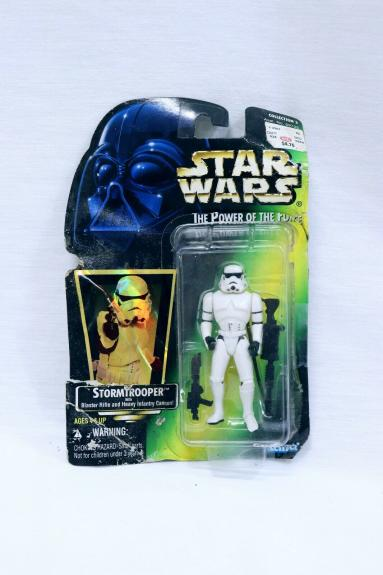 VINTAGE SEALED 1997 Kenner Star Wars POTF Stormtrooper Action Figure