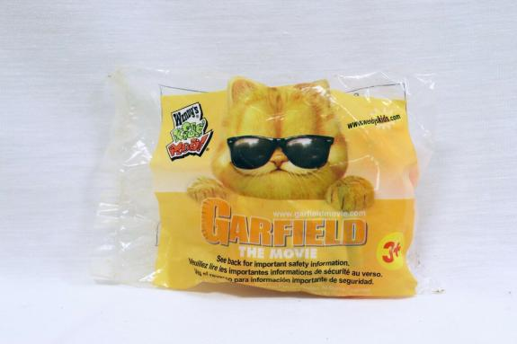 VINTAGE SEALED 2004 Wendy's Garfield the Movie Action Figure