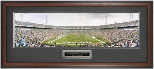 Virginia Cavaliers - Scott Stadium - Framed Unsigned Panoramic Photograph - Mounted Memories