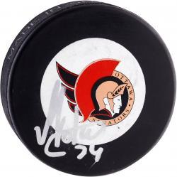 Anton Volchenkov Ottawa Senators Autographed Puck