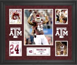 Von Miller Texas A&M Aggies Framed 5-Photo Collage