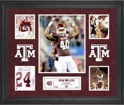 Von Miller Texas A&M Aggies Framed 5-Photo Collage