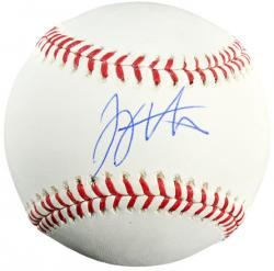 Joey Votto Cincinnati Reds Autographed Baseball - Mounted Memories