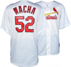 Michael Wacha St. Louis Cardinals Autographed Majestic Replica White Jersey
