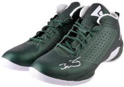 Dwyane Wade Miami Heat Autographed Green Shoes with White Logo and Green Laces - Mounted Memories