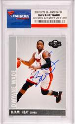 Dwyane Wade Miami Heat Autographed 2008 Topps Co-Signers #33 Card - Mounted Memories
