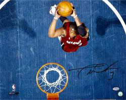 Dwayne Wade Autographed Heat 16x20 Photo