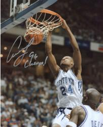 Antoine Walker Kentucky Wildcats Autographed 8x10 Photo - 96 Champs
