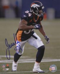 Javon Walker Denver Broncos Autographed 8x10 Photograph - Mounted Memories