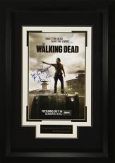 Walking Dead Andrew Lincoln Signed 11x17 Poster Framed