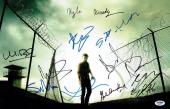 Walking Dead Cast (11) Signed Autographed 11x17 Photo Reedus/Lincoln PSA/DNA LOA