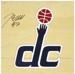 "John Wall Washington Wizards Autographed 12"" x 12"" Floor Piece with Logo"