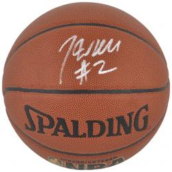 John Wall Washington Wizards Autographed Spalding Indoor/Outdoor Basketball - Mounted Memories