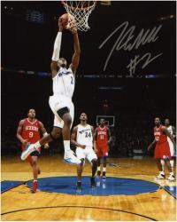 "NBA Washington Wizards John Wall Autographed 8"" x 10"" Photo vs. Philadelphia 76ers"