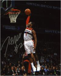 "NBA Washington Wizards John Wall Autographed 8"" x 10"" Photo vs. Toronto Raptors"