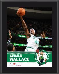 "Gerald Wallace Boston Celtics Sublimated 10.5"" x 13"" Plaque"