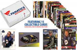 Rusty Wallace Collectible Lot of 15 NASCAR Trading Cards - Mounted Memories