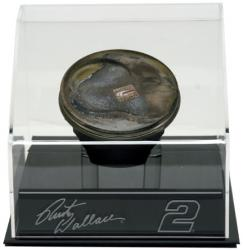 Rusty Wallace Race-Used Piston with Display Case - Mounted Memories