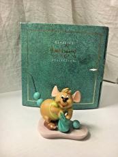 "Walt Disney Classics Figurine Cinderellas Gus ""You Go Get Some Trimmin"" COA"