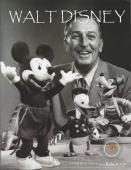 Walt Disney With Remnant Piece 8.5x10 Photo - Relic # 130