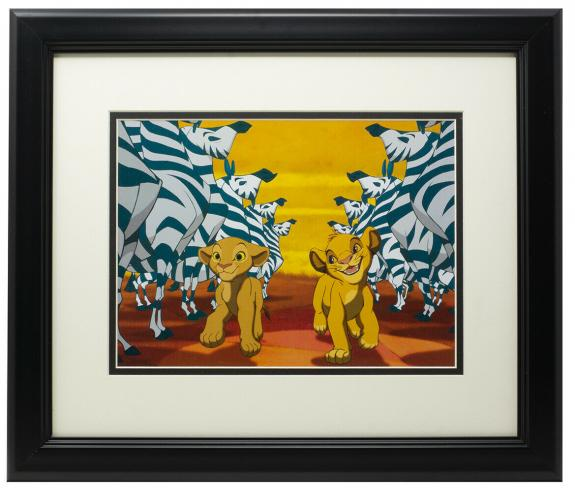 Walt Disney's The Lion King Framed I Can't Wait to Be King 11x14 Photo
