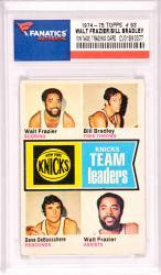 Walt Frazier/Bill Bradley/Dave DeBusschere  New York Knicks 1974-75 Topps #93 Card