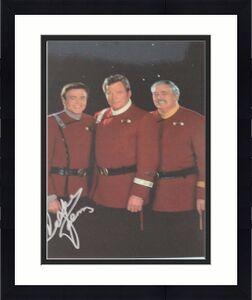 WALTER KOENIG Autographed PAVEL CHEKOV 8x10 STAR TREK with Kirk Postcard RARE15A