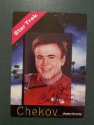 Walter Koenig (Chekov) - signed Photo - JSA COA