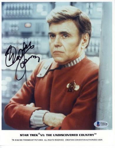 Walter Koenig Signed 8x10 Star Trek Photograph Beckett BAS