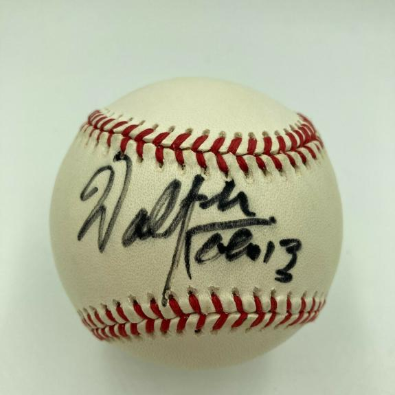 Walter Koenig Signed Autographed Major League Baseball With JSA COA